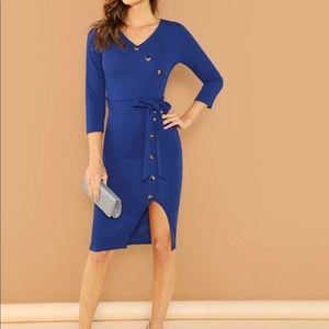 Dresses & Skirts - Tie Waist Wrap Dress